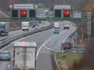 Autobahn 96: Gesperrte Tunnel nerven Pendler und Anwohner