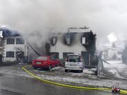 Landkreis Landsberg: Anwesen in Denklingen nach Brand unbewohnbar