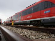 Landkreis Landsberg: Wer mit dem Zug ins Allgäu pendelt, hat schlechte Karten