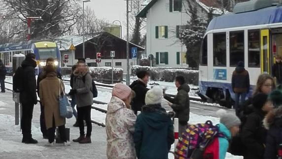 Ursachensuche nach Beinahe-Zusammenstoß im Bahnhof Utting
