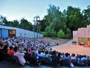 : Freilichtbühne am Mangoldfelsen in Donauwörth