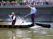 fischergasslerfest 2505 und 2805: Zünftiges Straßenfest und Wettkämpfe auf der Donau