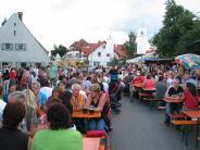 Mertinger Straßenfest: Beim Straßenfest ist viel geboten