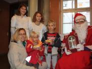 Der Weihnachtsmann wohnt in Rain: Hoher Besuch in der Tillystadt