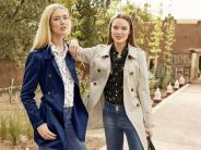 Übergangsjacke fürs Frühjahr: Im Frühjahr: Trenchcoat passt allen Kleidungsgrößen