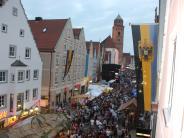 Reichsstraßenfest in Donauwörth: Bürgerfest zwischen Tradition und Moderne