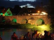 Brückenfest Harburg von 28. - 30. Juli 2017: Alte steinerne Brücke erwacht wieder zum Leben