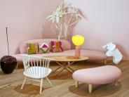 Plötzlich irgendwie cool: Rosa Möbel erobern denDesignermarkt