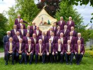 """90 Jahre MGV """"Liederkranz"""" Oberndorf-Eggelstetten: Seit 90 Jahren aus Liebe zur Musik"""