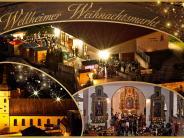 Weihnachtsmarkt Wellheim: Stimmungsvolles Festprogramm