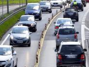 B17-Sanierung: B17 vier Wochen lang nur einspurig - das kommt auf Autofahrer zu