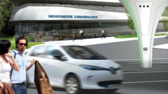 Kreis Augsburg: Bei Zusmarshausen entsteht die modernste Stromtankstelle der Welt