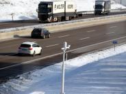Augsburg/Ulm: Wie Hightech auf der A8 vor Schnee und Eis schützt