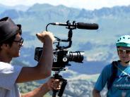 Kreis Augsburg: Dieser Fahrrad-Filmer setzt auf der ganzen Welt Mountainbiker in Szene