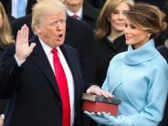 Bildergalerie: Ein halbes Jahr Donald Trump in Bildern