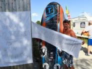 Mandichosee: Gegenwind für Surfstation - Betreiber fürchtet um Existenz