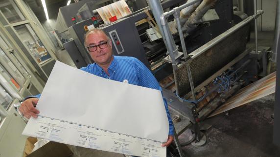 Kreis Augsburg: Sie drucken 16 Kilometer Papier für alle Augsburger Stimmzettel