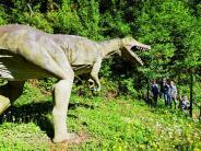 Deutschland-Reise: Bei Osnabrück kommt man den Dinos so nahe wie sonst wohl nirgends