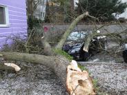 """Augsburg: Sturmtief """"Burglind"""" richtet Schäden in der Region an"""