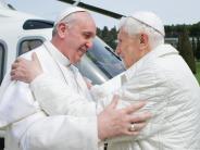 Vatikan: Papst Benedikt lebt jetzt als milder Mönch im Vatikan