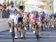 : Cavendish verteidigt Rosa Trikot - Aus für Russ