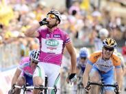 : Petacchi gewinnt auch 3. Giro-Etappe in Venetien