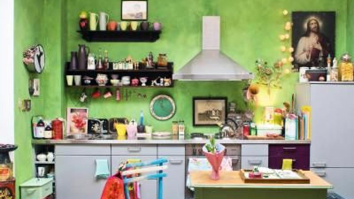 kleine k chen kreativ gestalten bauen wohnen. Black Bedroom Furniture Sets. Home Design Ideas
