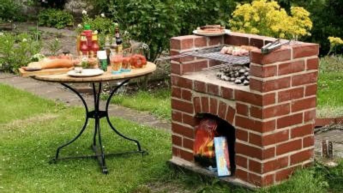 Wie man den Grillplatz im Garten selbst baut - Bauen ...