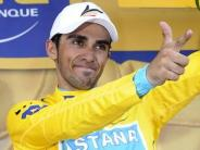 : Contador gnadenlos: Gelb nach Schleck-Panne