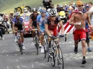 : Noch einmal fast ganz vorne:Armstrongs Aufbäumen