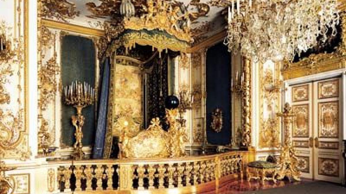 Schloss Herrenchiemsee: Schlafzimmer des