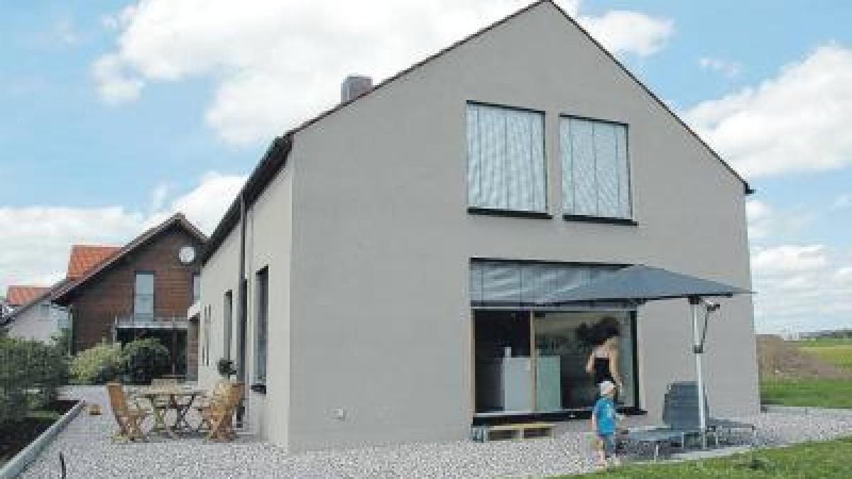 bauen ein haus ohne kompromisse nachrichten mindelheim. Black Bedroom Furniture Sets. Home Design Ideas