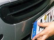 Polizeibericht aus Nördlingen: Kennzeichen gestohlen