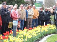 Frühlingsfest in Bad Wörishofen: Vom Beet auf die Briefmarke