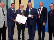 Breitenbrunn/München: Hohe Auszeichnung für Alfons Biber