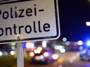 Polizeibericht aus Nördlingen: Fünf Trunkenheitsfahrten in einer Nacht