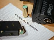 Kleiner Waffenschein: Deutsche beantragen mehr als 20.000 kleine Waffenscheine