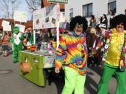Faschingsumzug in Kammlach: Närrische Frühlingsgefühle