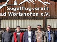 Wahl: Segelflieger retten sich aus Turbulenzen