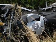 Unfall bei Dillingen: Motorradfahrer stirbt bei Verkehrsunfall