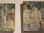 Ausstellung in Mindelheim: Nacktbadende und andere Vorbilder