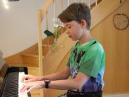Mindelheimer Musiker: Einer, der gerne in die Tasten haut