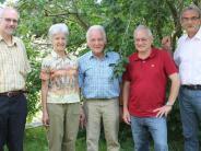 Jubiläum in Markt Wald: Viele Gratulanten zum 80. Geburtstag