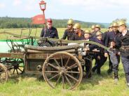 Feuerwehr in Markt Wald: So hat die Feuerwehr früher gelöscht
