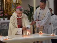 Kirchensanierung in Maria Baumgärtle: Der neue Altar krönt das Projekt