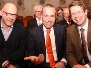 Europapolitiker in Mindelheim: Wohin steuert das Schiff Europa?