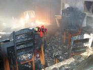 Feuer in Kirchheim: Kerze am Adventskranz verursacht Brand