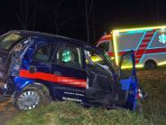 Unfälle im Unterallgäu: Zwei Schwerverletzte und 24.500 Euro Schaden