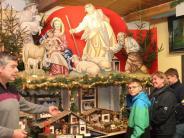 Krippenschau in Mindelheim: Eine Szene und über hundert Schauplätze
