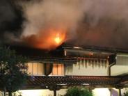 Großbrand: Keine heiße Spur zum Brandstifter